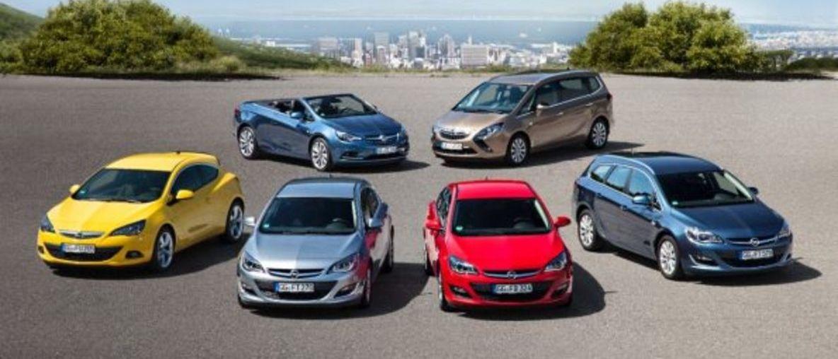 Съставете своя нов автомобил онлайн, сравнете моделите на Opel