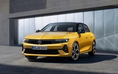 Световна премиера на новия модел Opel Astra в Рюселсхайм