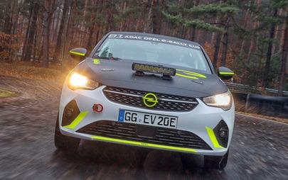 Opel стартира рали развойна програма за Corsa-e