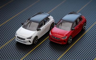 Малък, но забавен: Новият Opel Corsa вече се предлага и като умален модел